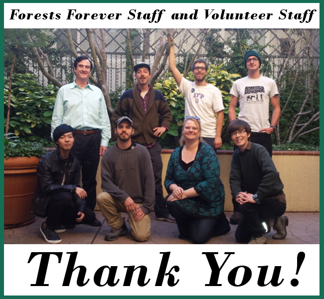 Forests Forever Staff and Volunteer Staff